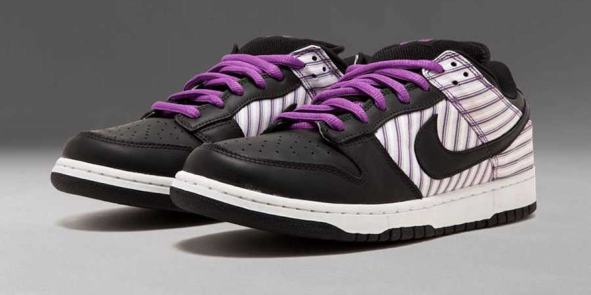 "Hot Sale Nike SB Dunk Low ""Purple Avenger"" Sale Online 304292-101"