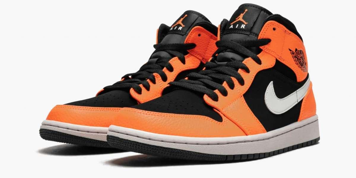 "Best Selling Air Jordan 1 Mid ""Black Cone"" 554724-062 Basketball Shoes"