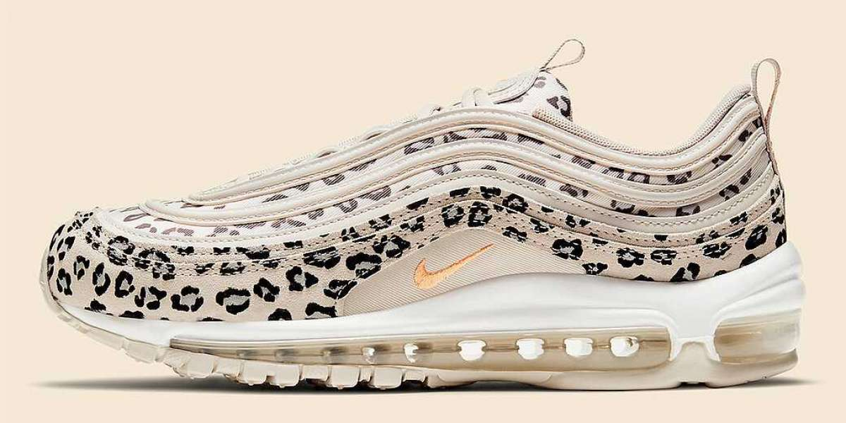"2021 Nike Air Max 97 ""Leopard"" CW5595-001 Sport Shoe"