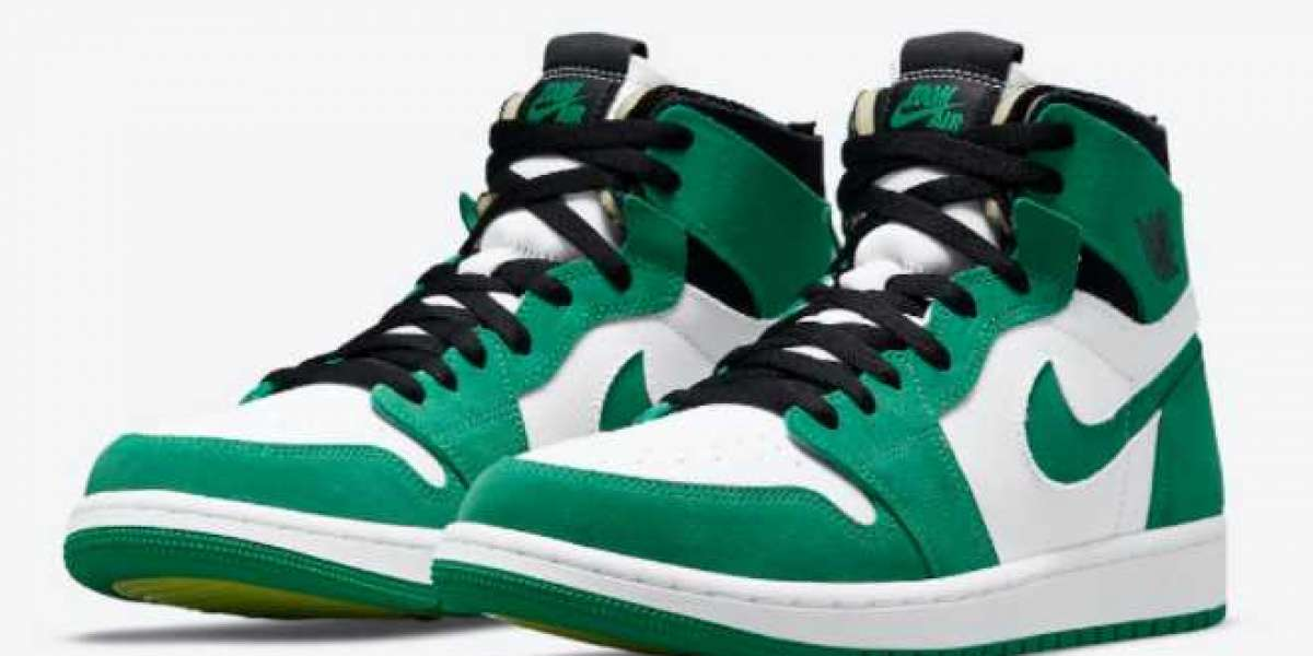 "CT0978-300 Air Jordan 1 Zoom CMFT ""Stadium Green"" release information"