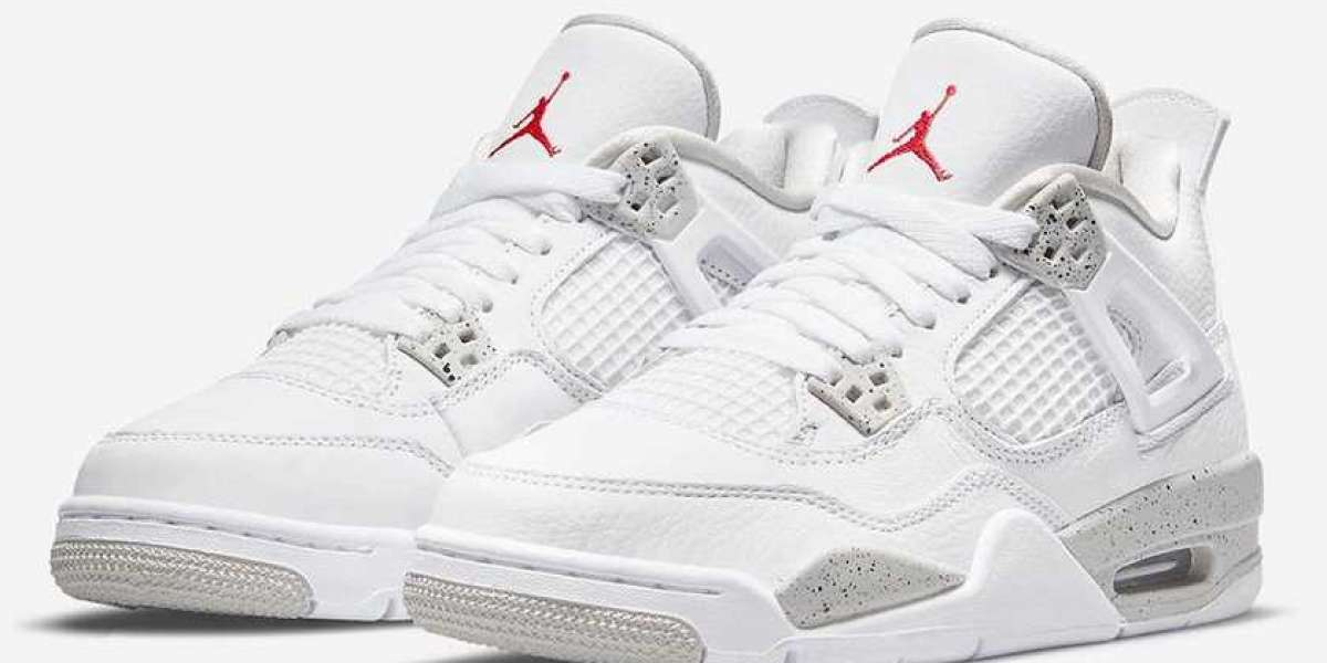 "CT8527-100 Air Jordan 4 ""White Oreo"" will be officially released on May 29, 2021"
