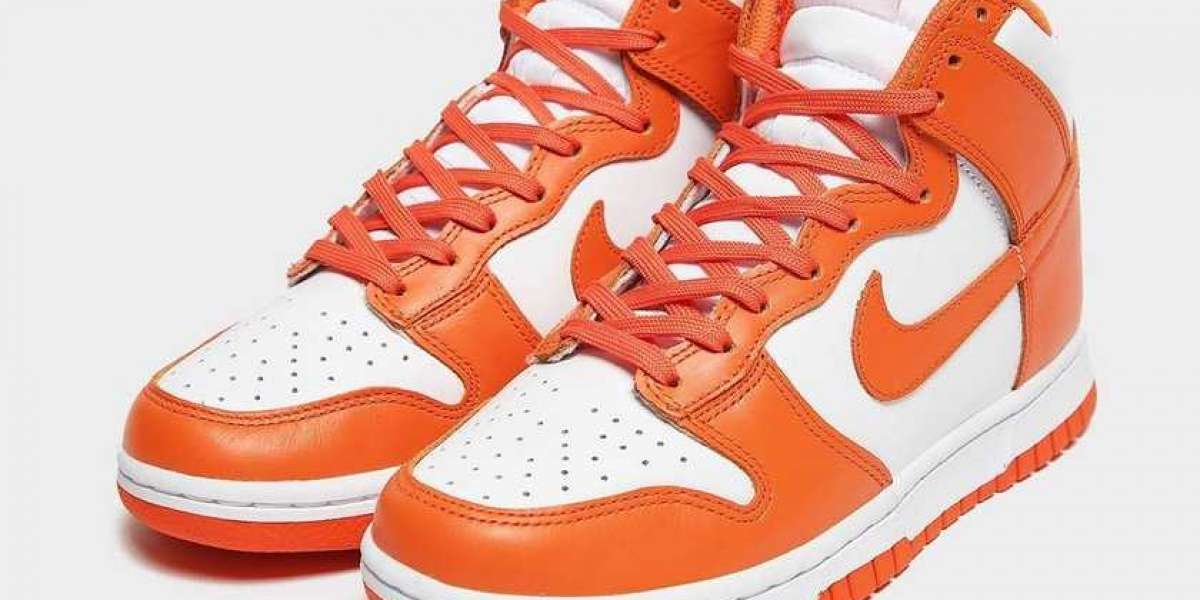 "DD1399-101 Nike Dunk High ""Syracuse"" is expected to be released in March"