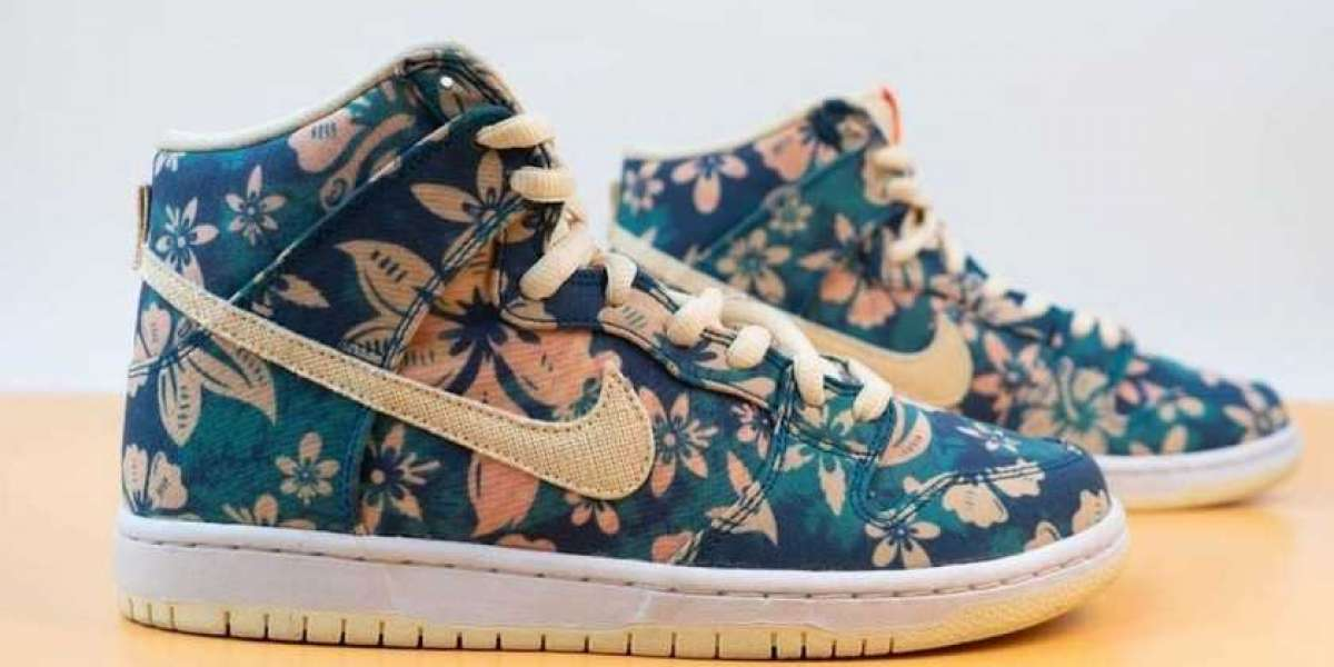 "CZ2232-300 Nike SB Dunk High ""Hawaii"" will be officially released this year"
